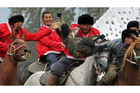 World Nomad Games: Decapitated goats and Steven Seagal ...