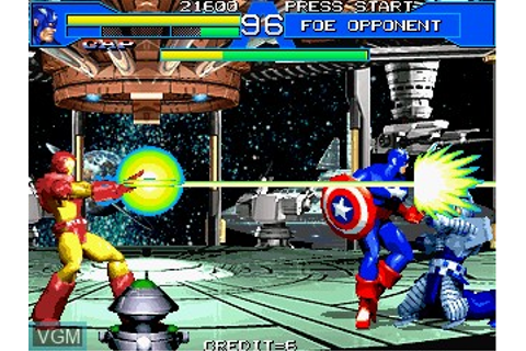 Avengers In Galactic Storm for MAME - The Video Games Museum