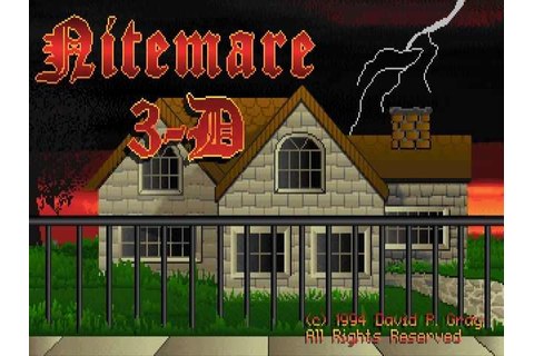 Nitemare 3D Download Free Full Game | Speed-New