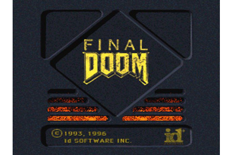 Final Doom (1996) by Virgin Interactive Entertainment PS game