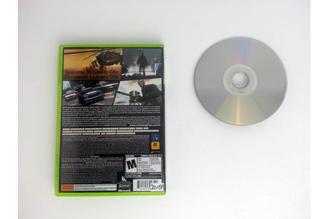 Grand Theft Auto IV game for Xbox 360 | The Game Guy