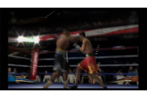 Fight Night Round 2 ps2 game - YouTube