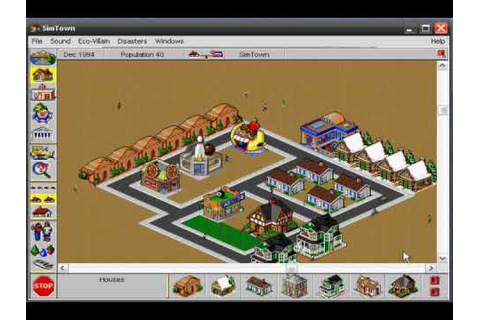 SimTown Gameplay, Higher Quality Version - YouTube