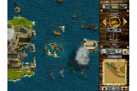Corsairs: Conquest at Sea Screenshots for Windows - MobyGames