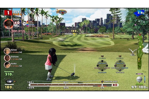 Everybody's Golf brings a new golf game to Playstation 4