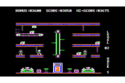 Apple II Classics - Hard Hat Mack - YouTube
