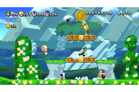 New Super Luigi U - Celebrating the year of Luigi (Wii U ...