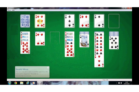 Solitaire computer game. Learn how to play and enjoy ...