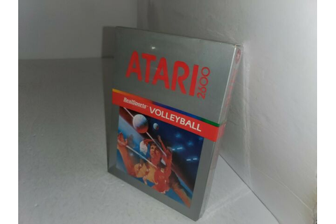 RealSports Volleyball (Atari 2600, 1982) for sale online ...