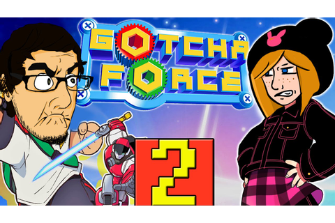 Let's Play Gotcha Force - Part 2 - G Black and Usagi ...