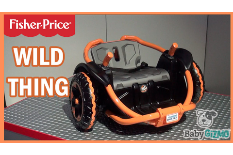 NEW Fisher Price Power Wheels Wild Thing Ride-on for ...
