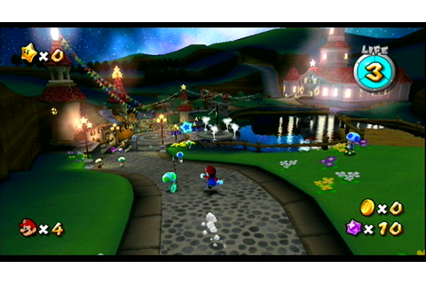 Super Mario Galaxy Screenshots for Wii - MobyGames