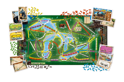 Ticket To Ride: Rails & Sails Board Game | The Gamesmen