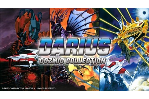 Japan: Darius Cozmic Collection Announced For Nintendo ...