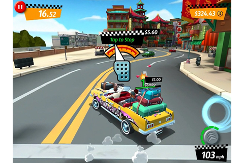Crazy Taxi: City Rush begins its ride on the iPhone and ...