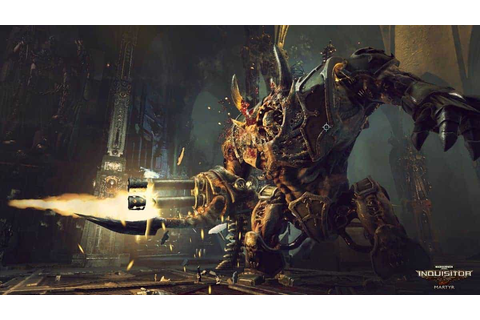 Warhammer 40K: Inquisitor Martyr E3 Trailer And ...