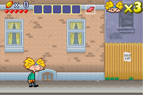 Play Hey Arnold! – The Movie Online - Play Game Boy ...