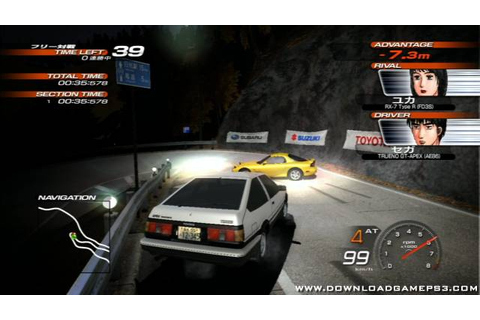 Initial D: Extreme Stage is a Racing game, developed and published by ...