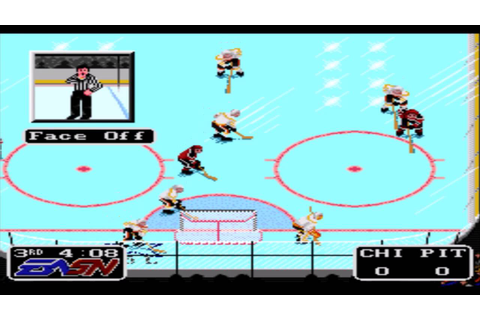 NHLPA Hockey '93 SNES Gameplay HD - YouTube
