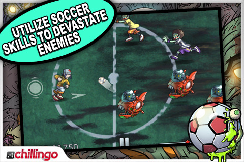 Pro Zombie Soccer iPhone game app review | AppSafari