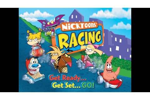 Nicktoons Racing: A Blast to the Past - YouTube