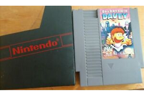 Vintage Game-Day Dreamin' Davey (Nintendo NES, 1992 ...