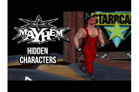 WCW Mayhem - Hidden Characters - YouTube