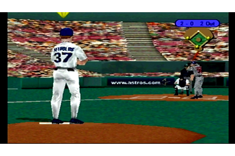 (PS1) TRIPLE PLAY 99 Full Game Twins @ Astros - YouTube