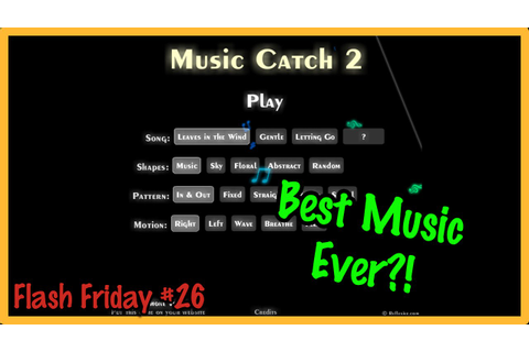Music Catch 2 - Best Music in a Flash Game! (Flash Friday ...