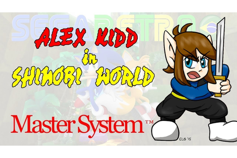 Alex Kidd in Shinobi World - Master System - Review - YouTube