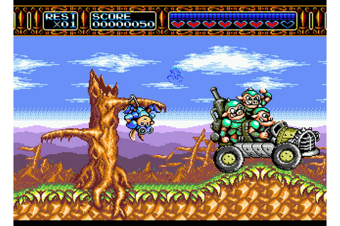 Rocket Knight Adventures (USA) ROM