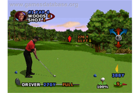 Tiger Woods PGA Tour 2000 - Sony Playstation - Games Database