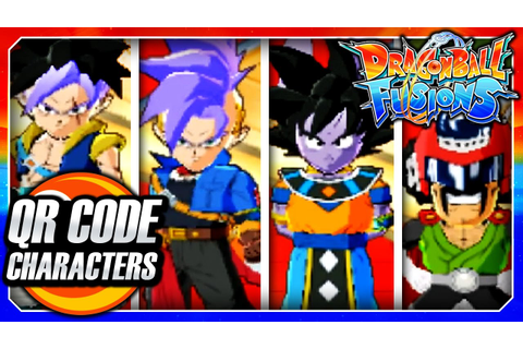 Dragon Ball Fusions 3DS English: All Secret QR Code ...