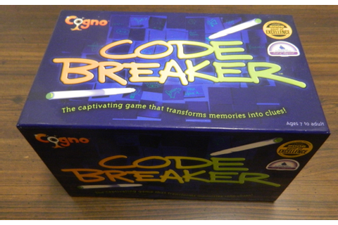 Codebreaker Board Game Review and Rules | Geeky Hobbies