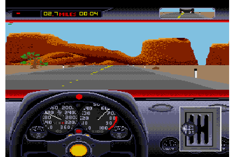 Test Drive II: The Duel (1992) by Pitbull Syndicate Mega ...