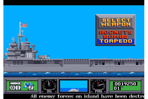 Amiga Longplay Wings of Fury - YouTube