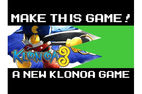 A New Klonoa Game - MAKE THIS GAME! - YouTube