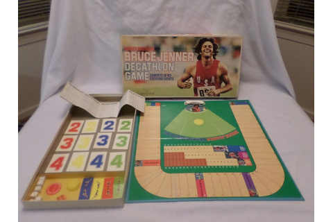 Bruce Jenner's Decathlon Game | Board games, Bored games ...
