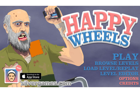 Happy Wheels - Ragdoll Racing Online Fun on Silvergames.com!
