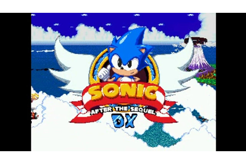Sonic After the Sequel DX (fan game) + download - YouTube