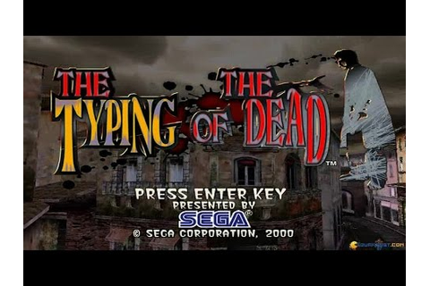 The Typing of the Dead gameplay (PC Game, 2000) - YouTube