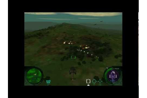 Missing in action Helicopter game 1998 - YouTube