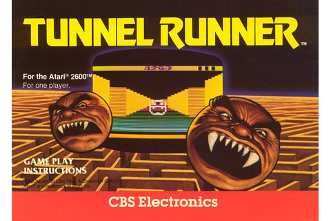 Atari 2600 VCS Tunnel Runner : scans, dump, download ...