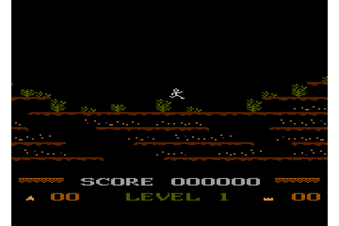 Mountain King (1983) by E. F. Dreyer / K-Byte Atari 5200 game