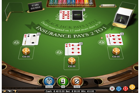 Play Blackjack Professional Series by NetEnt