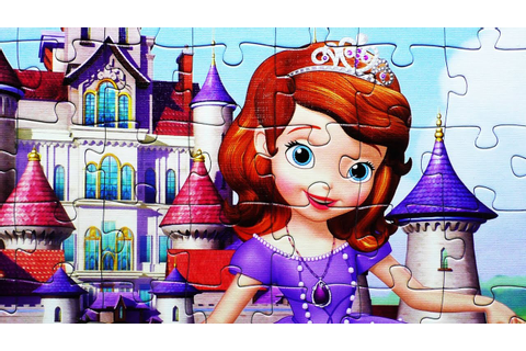 Sofia the First Jigsaw Puzzle Games Kids Learning Toys ...
