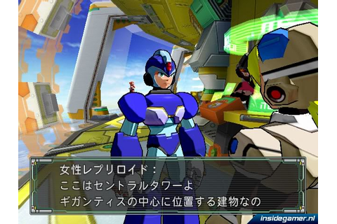 Mega Man X Command Mission [GC PS2 - Beta / Unused Stuff ...