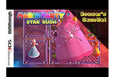 Mario Party: Star Rush - All Bowsers Gauntlet Minigames ...
