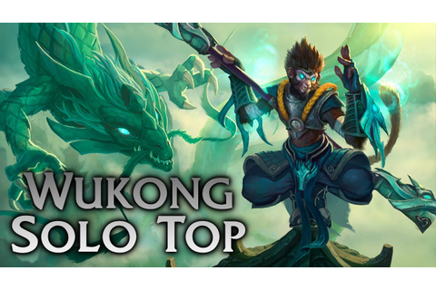 League of Legends | Jade Dragon Wukong Solo Top #2 - Full ...