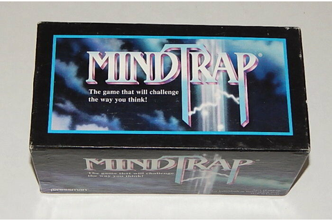 MindTrap Card Game Mind Trap 1991 Vintage 90s Brain Teaser ...